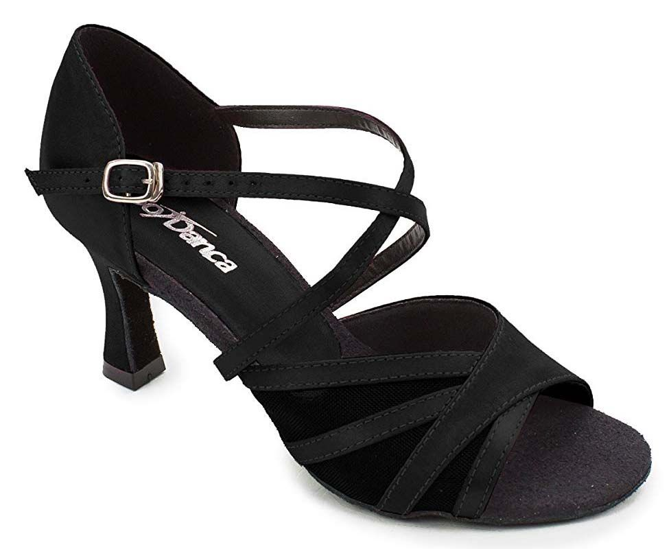 "2.5"" Heel Ballroom Shoe with Mesh Straps on Toe BL160 - Final Sale"