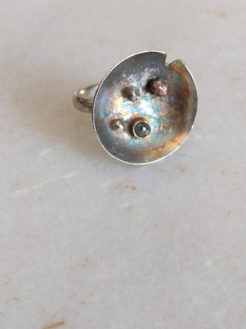 Moonscape Cocktail Ring