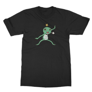 Mischievous Fighting Frog Classic Adult T-Shirt