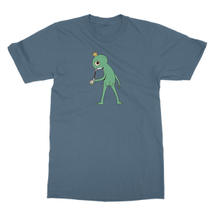 Mischievous Booty Frog Classic Adult T-Shirt