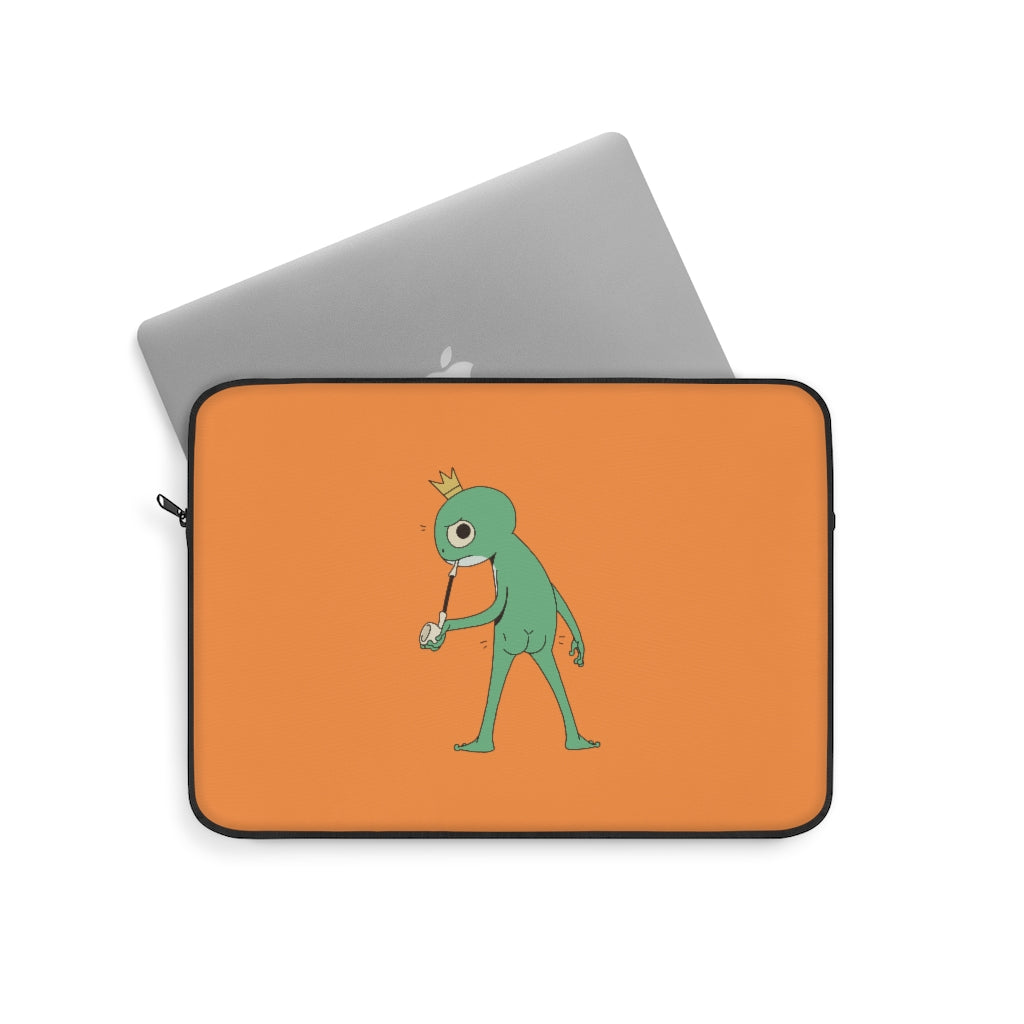 Mischievous Frog Laptop Sleeve