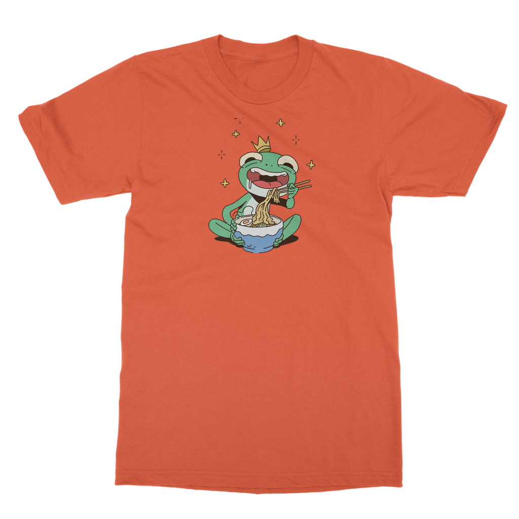 Mischievous Hungry Frog Classic Adult T-Shirt