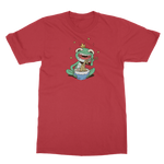 Load image into Gallery viewer, Mischievous Hungry Frog Classic Adult T-Shirt