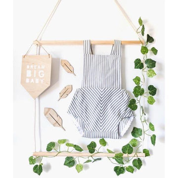 Two Tier Hanging Ladder Shelf | Hope & Jade | Little Lights Co.