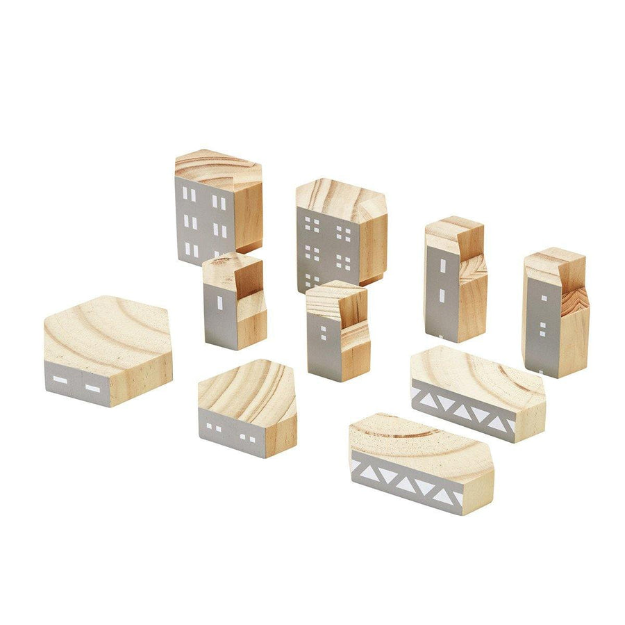 Blockitecture Brutalism Classic Set Building Blocks | Areaware | Little Lights Co.