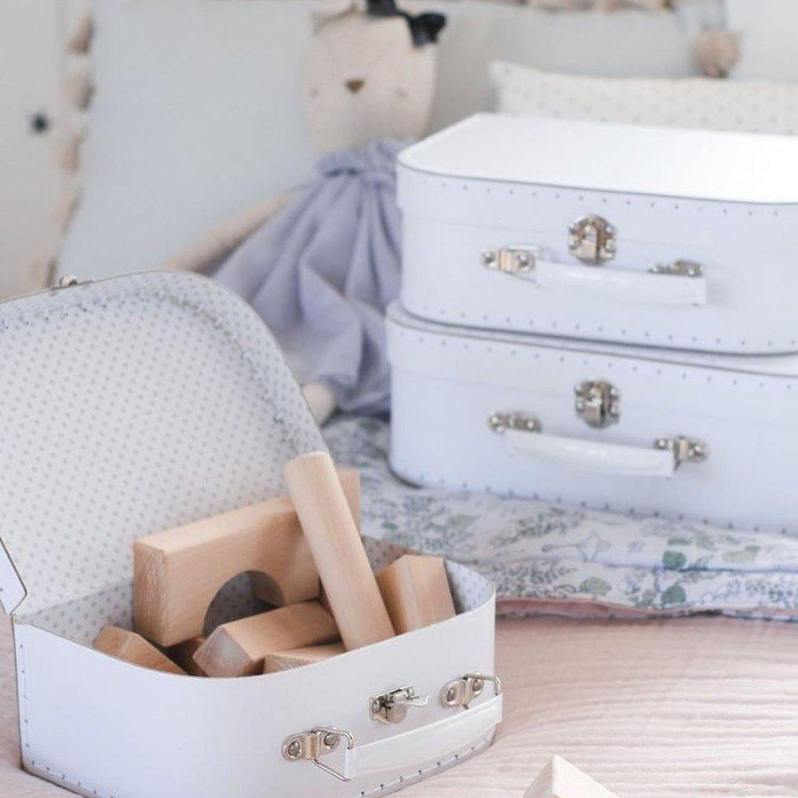 Carry Case Set 3pcs - White and Grey | Alimrose | Little Lights Co.