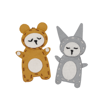 Charm Craft Bear & Bunny | Fabelab | Little Lights Co.