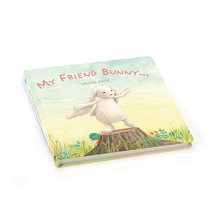 My Friend Bunny Book | Jellycat | Little Lights Co.