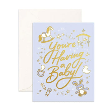 Having A Baby Card | Fox and Fallow | Little Lights Co.