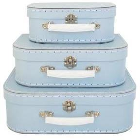 Alimrose Carry Case Set 3pcs - Pale Blue