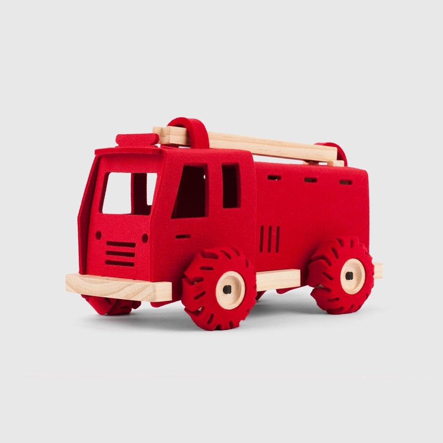 Brave Dave the Fire Engine | Woolkin - Little Lights Co.