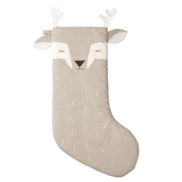 Christmas Stocking- Sleepy Deer | Fabelab | Little Lights Co.