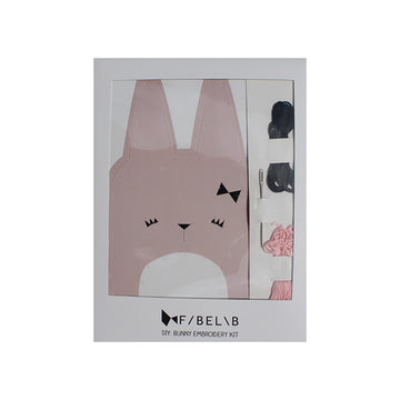 Mini Maker Bunny Embroidery Kit | Fabelab | Little Lights Co.