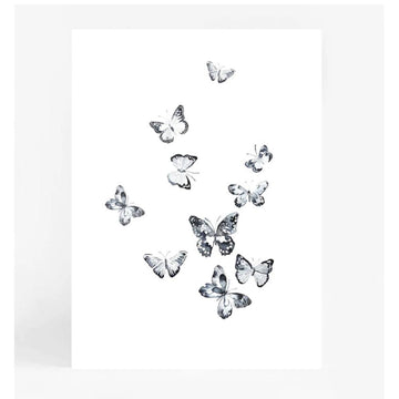 Butterflies A4 | Lenden | Little Lights Co.