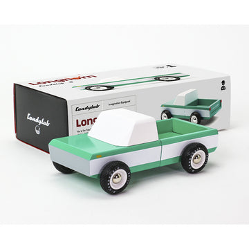 Longhorn Green Toy Car | Candylab | Little Lights Co.
