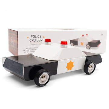 Police Cruiser Toy Car | Candylab - Little Lights Co.