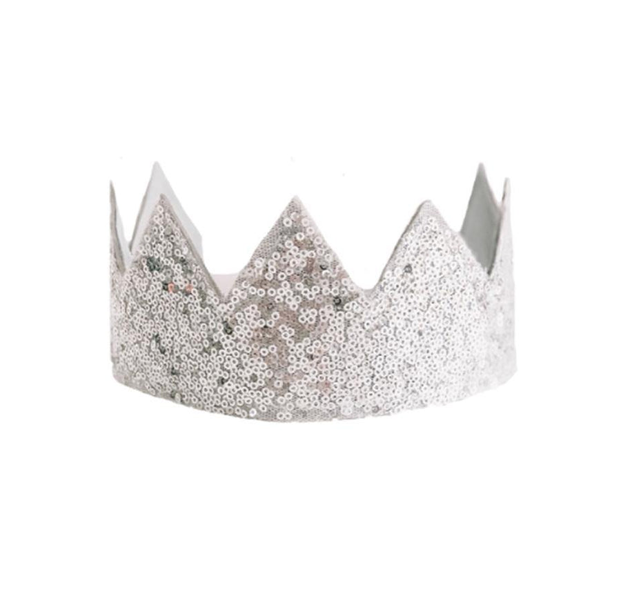 Alimrose | Sequin Silver Crown | Little Lights Co.
