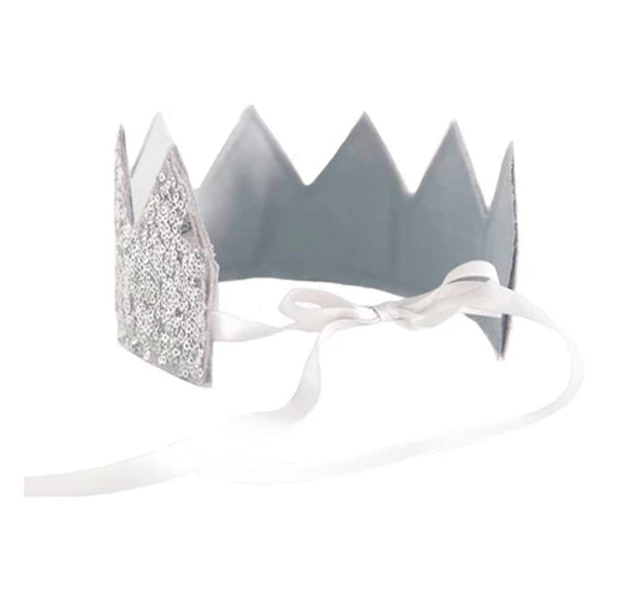 Sequin Silver Crown | Alimrose | Little Lights Co.