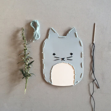 Mini Maker Cat Embroidery Kit | Fabelab | Little Lights Co.