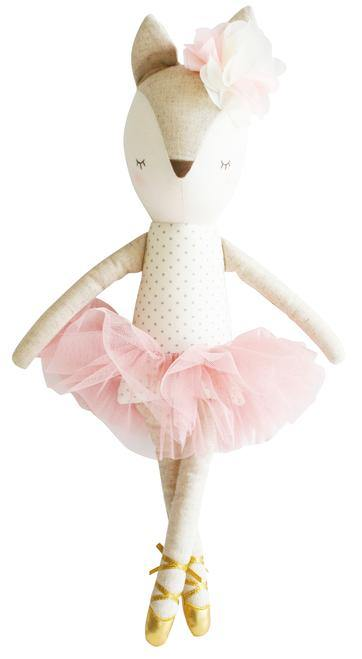 Dreaming Daphne Deer 43cm Spot Blush | Alimrose | Little Lights Co.