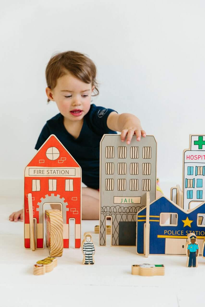 Happy Architect Emergency Set | The Freckled Frog | Little Lights Co.