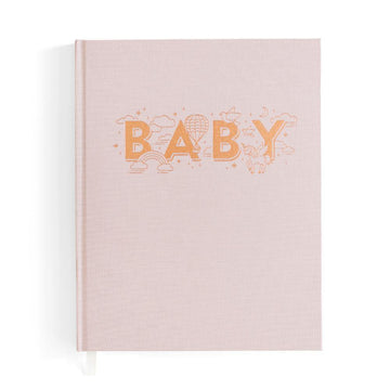Fox & Fallow | Baby Book - Natural Pink | Little Lights Co.