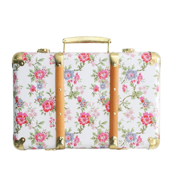 Vintage Style Suitcase - Cottage Rose | Alimrose | Little Lights Co.