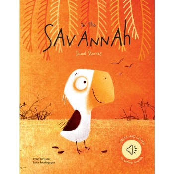 In the Savannah - Sound Book | Sassi Junior | Little Lights Co.