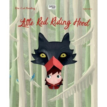 Little Red Riding Hood Die-Cut Book | Sassi Junior | Little Lights Co.