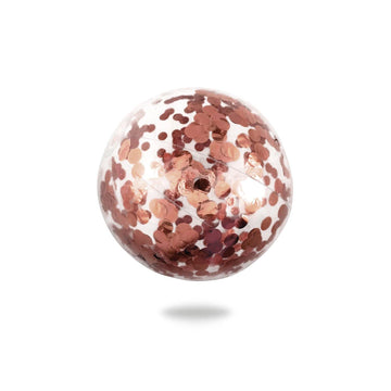 Confetti Beach Ball, Rose Gold | Minnidip - Little Lights Co.