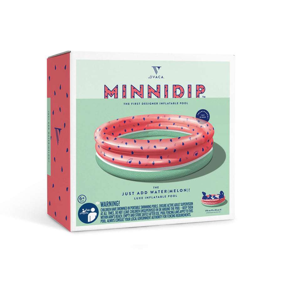 Just Add Water(melon) Pool | Minnidip | Little Lights Co.