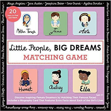 Little People, BIG DREAMS - Matching Game - Little Lights Co.