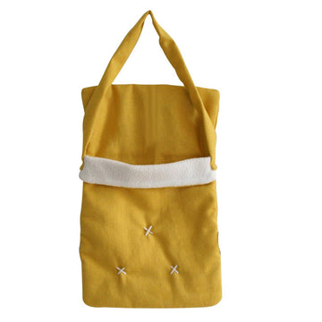 Baby Doll Carry Bag Butterscotch Linen | Alimrose | Little Lights Co.