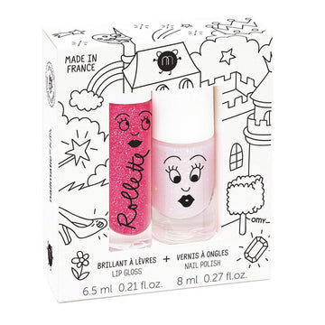 Fairytales Lip Gloss and Nail Polish Gift Set | Nailmatic - Little Lights Co.
