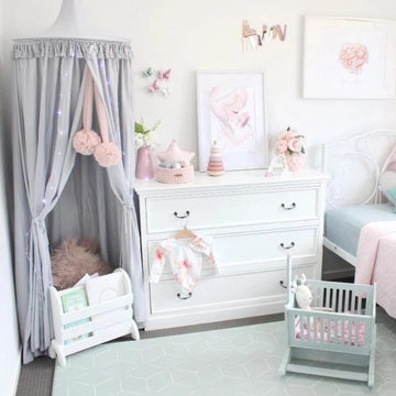 Grey Canopy | Hope & Jade | Little Lights Co.