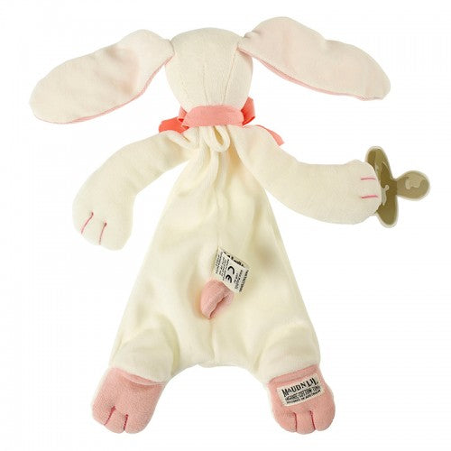 Rose the Bunny Comforter - Organic Dummy Holder (unboxed) | Maud n Lil | Little Lights Co.