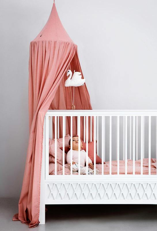 Canopy, Dot Vintage Rose | CamCam | Little Lights Co.