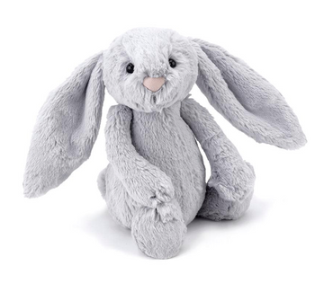 Bashful Silver Bunny | Jellycat | Little Lights Co.