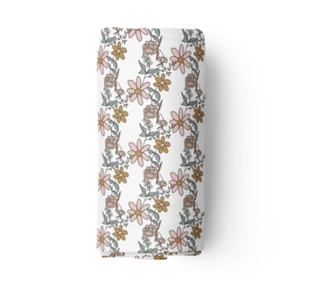 Bamboo Muslin Swaddle, Piper | Piper Bug - Little Lights Co.