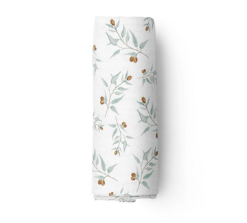 Bamboo Muslin Swaddle, Ray | Piper Bug - Little Lights Co.