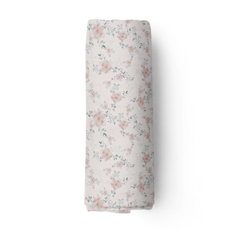 Bamboo Muslin Swaddle, Lynne | Piper Bug | Little Lights Co.