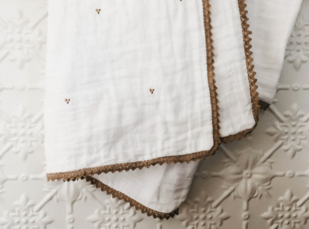 Irene Hazel Blanket | Piper Bug | Little Lights Co.