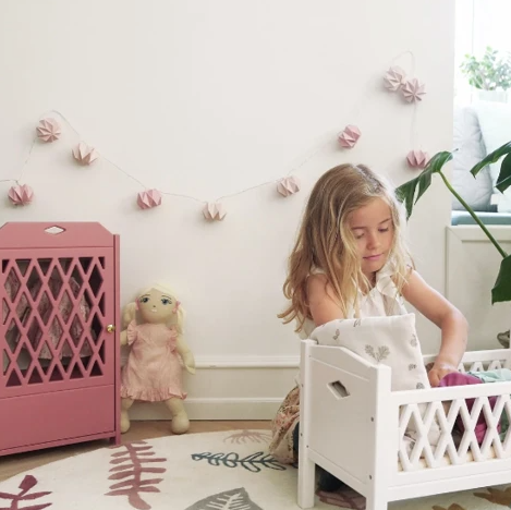 Dolls Bedding, Fawn | CamCam | Little Lights Co.