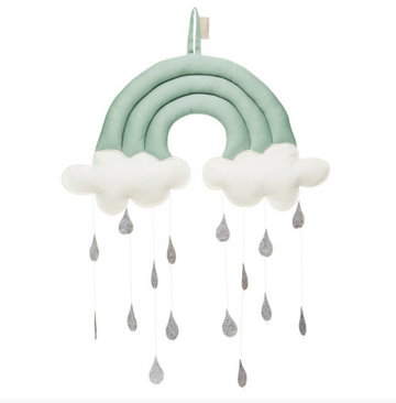 Rainbow Mobile, Sea Green | CamCam | Little Lights Co.
