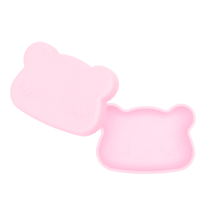 Bear Snackie, Powder Pink | We Might Be Tiny | Little Lights Co.