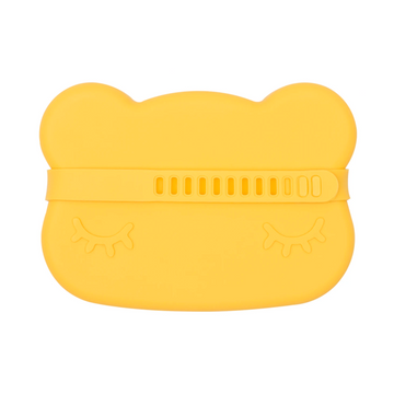 Bear Snackie, Yellow | We Might Be Tiny | Little Lights Co.