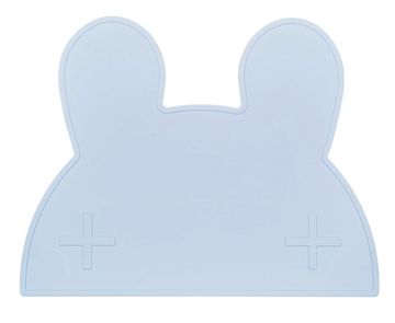 Bunny Placemat, Powder Blue | We Might Be Tiny - Little Lights Co.