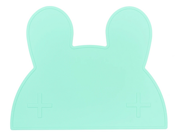 Bunny Placemat, Minty Green | We Might Be Tiny - Little Lights Co.