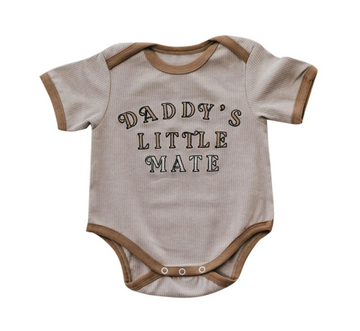 Daddy's Little Mate Romper | Piper Bug