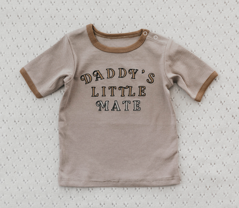 Daddy's Little Mate Tee | Piper Bug